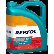 Масло Repsol Elite Turbo Life 0W30